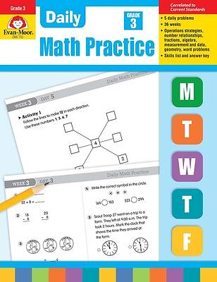 Picture of Daily Math Practice, Grade 3