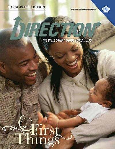 UMI Direction Large Print Student Manual Fall 2013