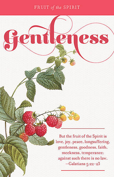 Picture of Fruit of the Spirit:  Gentleness Bulletin Pack of 100