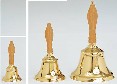 Picture of Koleys K197L Large Brass School Bell