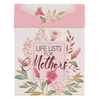 Picture of Boxed Cards, Life Lists for Mothers