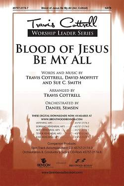 Blood of Jesus Be My All Split-Track Accompaniment CD