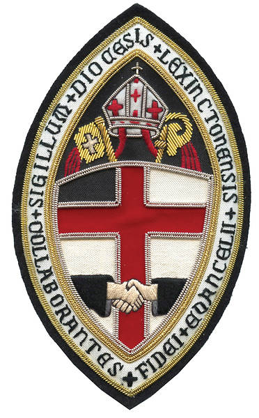 Hand Embroidered Diocesan Seal - Diocese of Lexington