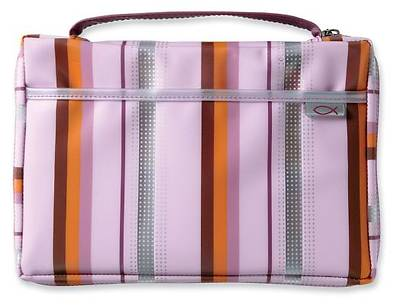 Picture of Pink Lavender Sassy Stripes Lg