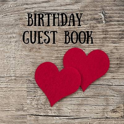 Picture of Birthday Guest Book