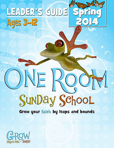 Picture of Grow, Proclaim, Serve! One Room Sunday School Leader Guide - Download 4/20/2014