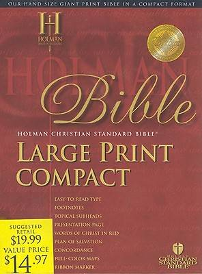 Picture of Large Print Compact Bible - HCSB