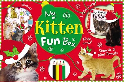 My Kitten Fun Box [With Doodle Activity Book, Cutest Kittens Mini Notebook and 4 Coloring Pencils and 4 Photo Postcar