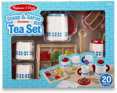 Picture of Wooden Steep & Serve Tea Set