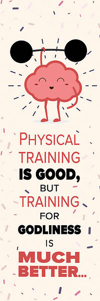 Picture of Training For Godliness Kids Bookmark
