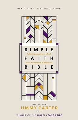 Picture of NRSV Simple Faith Bible, Hardcover, Comfort Print
