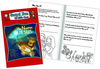 Picture of His Name Is Jesus: Gospel Fun for Little Ones Activity Book