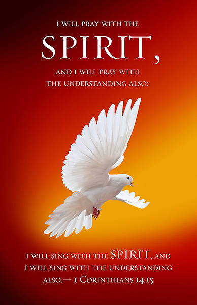 Spirit Pentecost Bulletin - Pack of 100 - Pack of 100