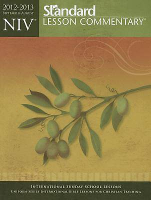 Standard Lesson Commentary NIV Paperback Edition 2012-2013