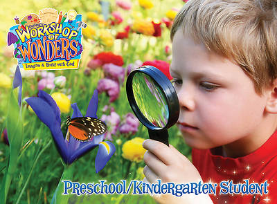 Vacation Bible School (VBS) 2014 Workshop of Wonders Preschool/Kindergarten Student Book