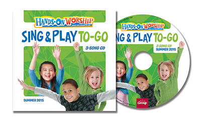 Picture of Hands On Worship Sing & Play To Go CD (5 Pack) Summer 2015