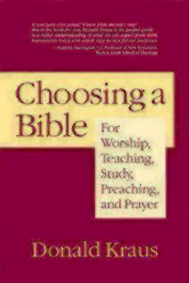 Picture of Choosing a Bible [ePub Ebook]
