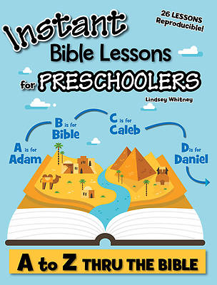 Picture of Instant Bible Lessons for Preschoolers