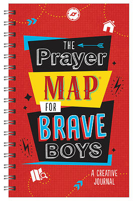 Picture of The Prayer Map for Brave Boys