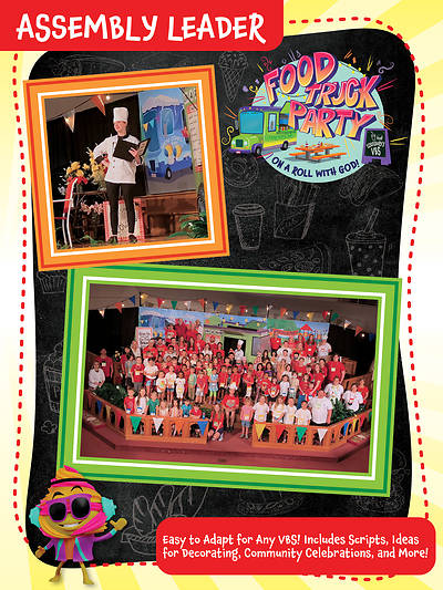 Picture of Vacation Bible School (VBS) Food Truck Party Assembly Leader