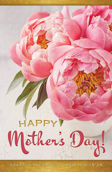 Picture of Happy Mother's Day Regular Size Bulletin