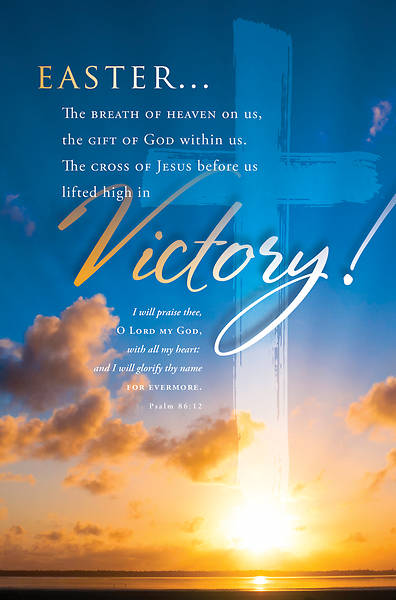 Victory Easter Regular Size Bulletin