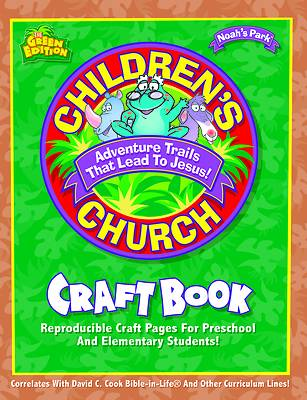 Picture of Children's Church Craft Book