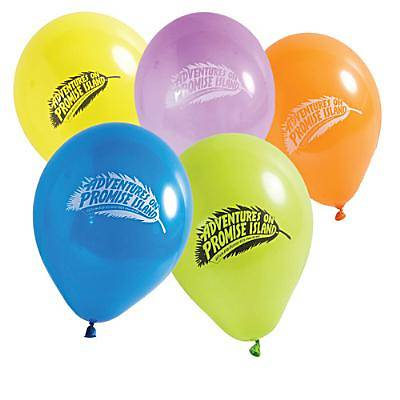 Standard Vacation Bible School 2012 Adventures On Promise Island Latex Balloons (pkg of 20)
