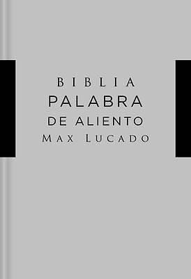 Picture of NVI Santa Biblia, Lucado, Palabra de Aliento, Tapa Dura, Gris, Interior a DOS Colores