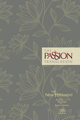 Picture of The Passion Translation New Testament (2020 Edition) Hc Floral