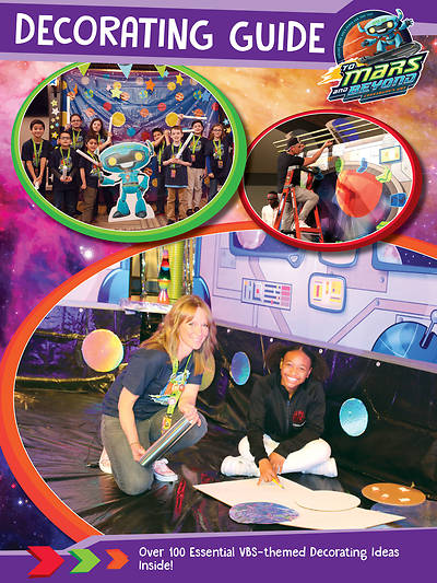 Picture of Vacation Bible School (VBS) 2019 To Mars and Beyond Decorating Guide Download