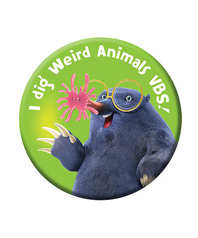 Group VBS 2014 Weird Animals Buttons 30pk