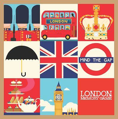 Picture of London Memory Game