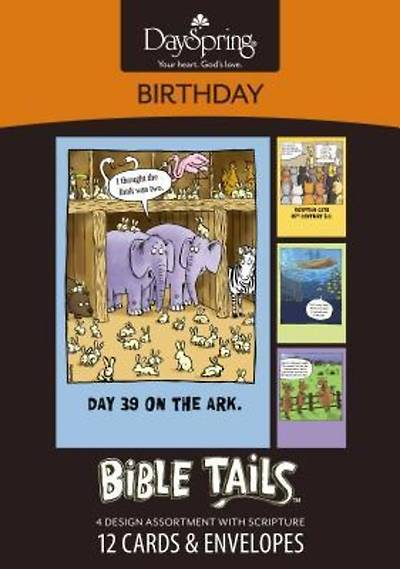 Bible Tails™ - Birthday Boxed Cards - Box of 12