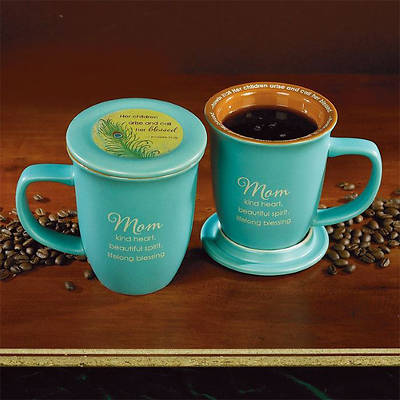 Mom Mug and Coaster Set