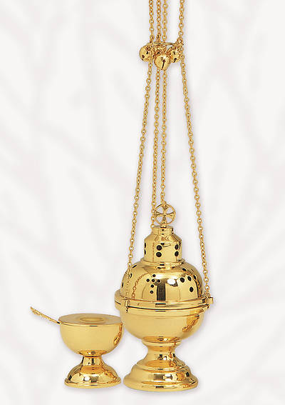 Picture of Koleys K501 Eastern Rite Censer and Boat