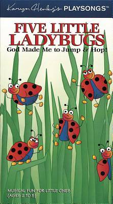 Picture of Five Little Ladybugs; God Made Me to Jump & Hop