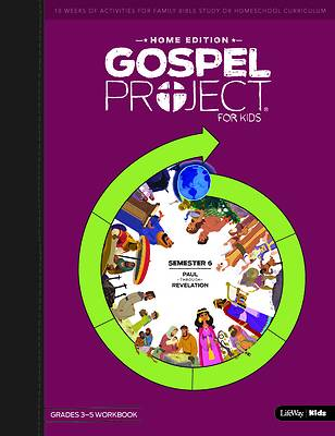 Picture of The Gospel Project Home Edition Grades 3-5 Workbooks Semester 6
