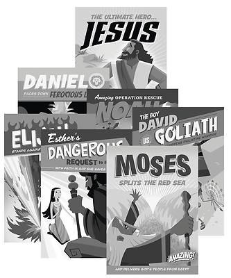 Picture of Heroes Unmasked 2020 Bible Hero Cards (10 Sets of 7 Cards)