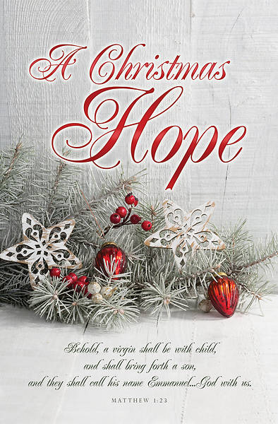 Picture of A Christmas Hope Regular Size Bulletin