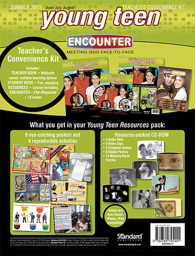 Encounter Young Teen Teacher Convenience Kit Summer 2013