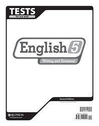English 5 Tests 2nd Edition