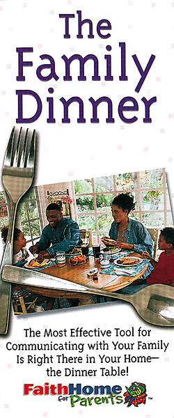 Picture of FaithHome for Parents African American Family Dinner (package of 12)