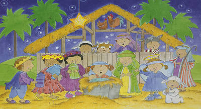 The Nativity Giant Floor Puzzle With Audio CD and Activity Guide