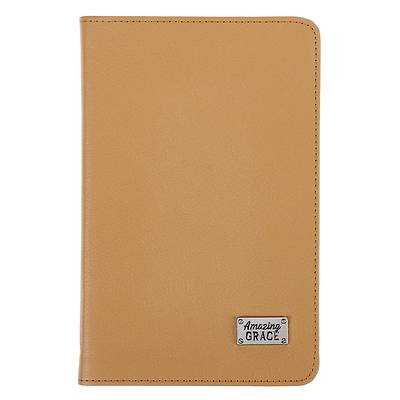 Picture of Leather Journal Amazing Grace Badge