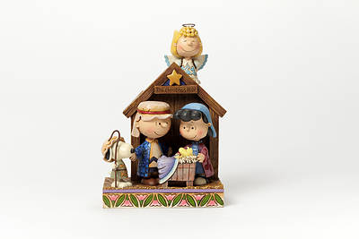 Picture of Peanuts Christmas Pageant Resin Figurine