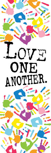 Love One Another Kids Bookmark
