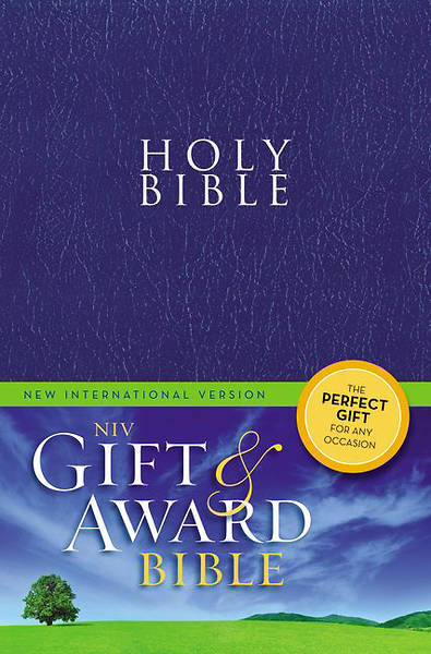 Gift and Award Bible NIV (Blue paperback)