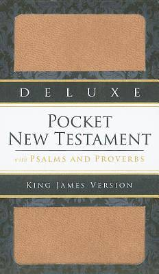 Deluxe Pocket New Testament with Psalms and Proverbs - KJV