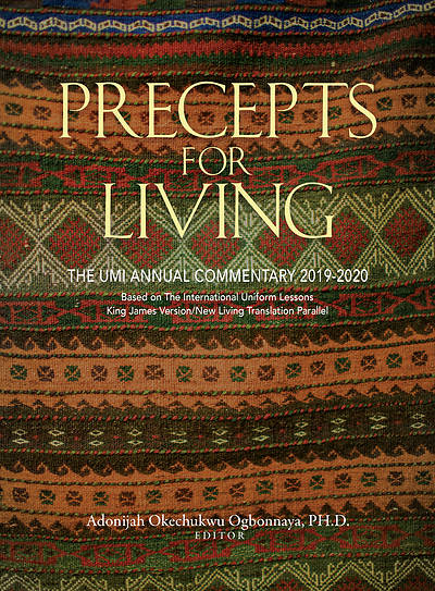 Picture of Precepts for Living Regular Print 2019-2020